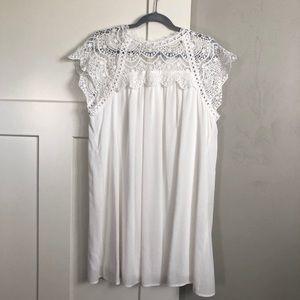 Bates Sister Boutique white lace dress
